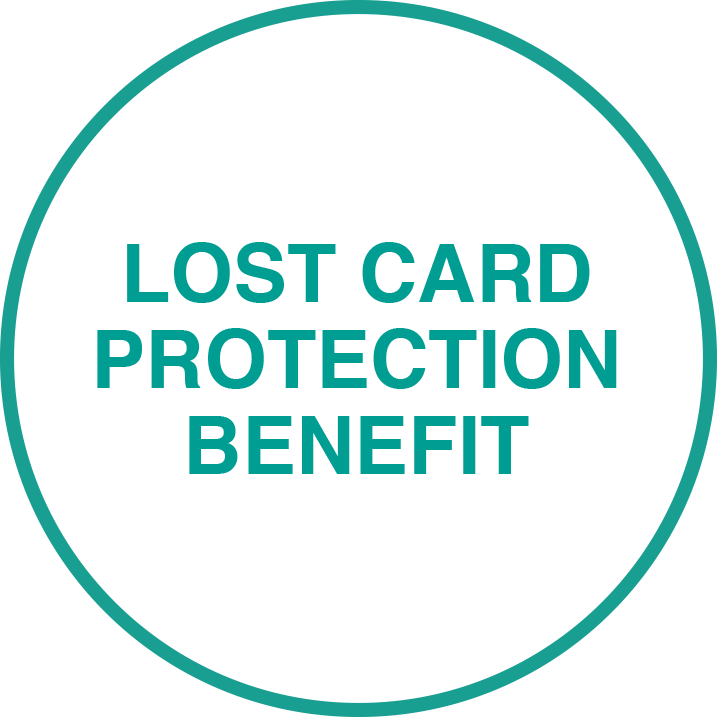 Lost Card Protection Benefit