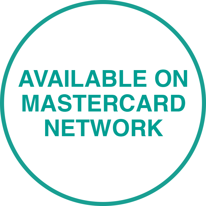 Available on MasterCard network